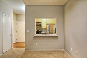 Open concept layouts at Allegro at Jack London Square