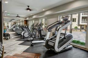 Cardio equipment at Windsor Preston, Plano, Texas