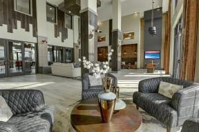 Large clubhouse at Windsor Preston, 7950 Preston Road, 75024