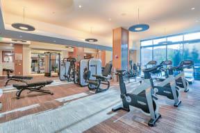 Amenities-Fitness Center at Platt Park by Windsor, Denver, 80210