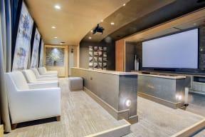 Amenities-Media Room at Platt Park by Windsor, Denver