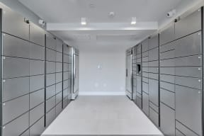 Mailroom with 24-Hour Parcel Locker Access at Windsor Ridge, Texas, 78727