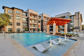 Swimming Pool With Relaxing Sundecks at Windsor Ridge, Austin, TX, 78727