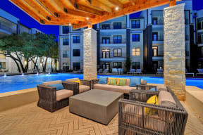 Lounging By The Pool at Windsor Ridge, Texas, 78727