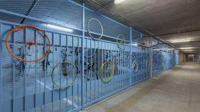 SWith a bike score of 93, bike storage is key! at Eleven by Windsor, Austin, Texas