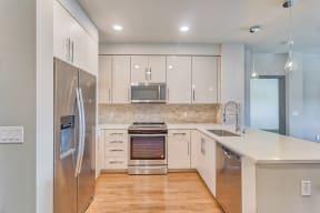 Gorgeous Modern Kitchen at Blu Harbor by Windsor