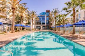 Resort style pool at Boardwalk by Windsor