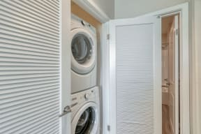 Washer and dryer at Boardwalk by Windsor