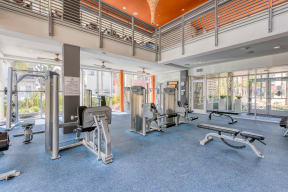 Weight room at Boardwalk by Windsor