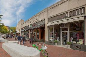Retail shops in Harvard Square, Cambridge, MA