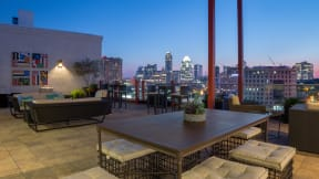 The Austin skyline is yours, 7-days a week. at Eleven by Windsor, Austin, TX