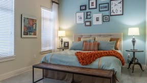 Master bedrooms as large as 13' by 17'. at Eleven by Windsor, Austin, 78702