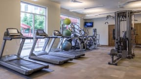 Stay in shape in our 24-hour fitness center at Eleven by Windsor, Texas, 77002