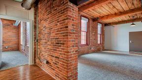 Original factory wood ceilings