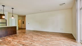 Bright open floor plans with flexible layouts