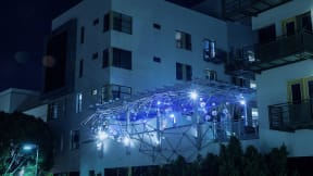 Light installation at Terraces at Paseo Colorado, California, 91101