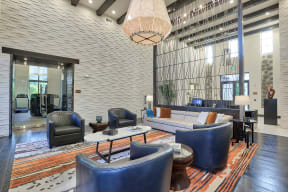 Welcoming Gathering Spaces are located throughout the community at Windsor at Delray Beach, Delray Beach,Florida