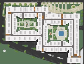 Community Map at Windsor at Cambridge Park, Massachusetts, 02140