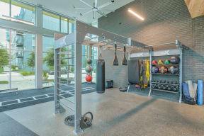 Gym RX suspension training at Metro West, Plano, Texas