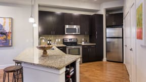 Kitchens that are perfect for entertaining. at Eleven by Windsor, Austin