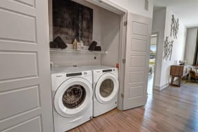 In home washer and dryer at Windsor Preston, TX, 75024