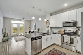 Fully Equipped Kitchen With Modern Appliances at Windsor Ridge, Austin, Texas