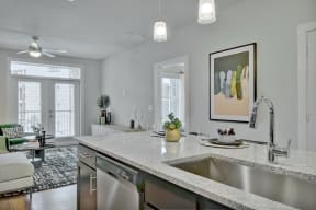 Granite Countertop Kitchen at Windsor Ridge, Austin, TX