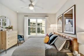Beautiful Bright Bedroom With Wide Windows at Windsor Ridge, Austin, TX