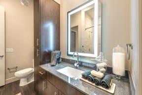 Bathroom Accessories at Windsor Turtle Creek, Dallas, TX