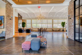 Complimentary WiFi throughout clubhouse  at Windsor at Oak Grove, Massachusetts, 02176