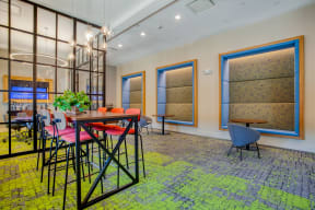 Coworking space  at Windsor at Oak Grove, Massachusetts, 02176