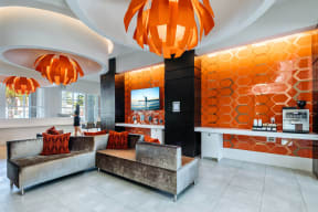 Complimentary Coffee Station at Blu Harbor by Windsor, Redwood City, California