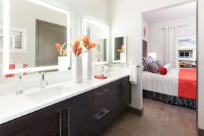 Master Bedrooms with En-suite Bathrooms at Blu Harbor by Windsor, CA, 94063