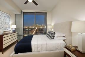 Oversized windows provide ample natural light.