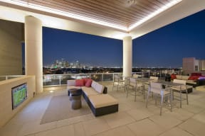 Elevated outdoor living spaces perfect for hosting guests.
