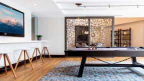 Billiards table at The Ridgewood by Windsor, VA, 22030