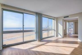 Ocean view apartment home at Sea Castle, Santa Monica