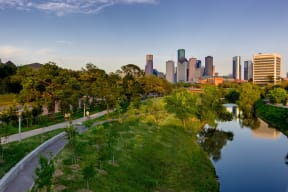 Buffalo Bayou Park is just a mile away, at The Sovereign at Regent Square, 3233 West Dallas, TX