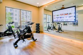 Private yoga and spin studio at Windsor Preston