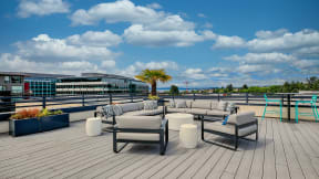 Rooftop Sundecks with Gorgeous Views at Tera Apartments, 98033, WA