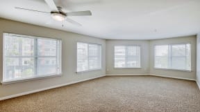 Bright and Open Living Spaces at Tera Apartments, Kirkland, WA