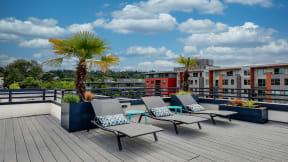 Roof-Top Veranda at Tera Apartments, 528 Central Way, WA