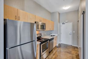 Stainless Steel Appliances at Terraces at Paseo Colorado