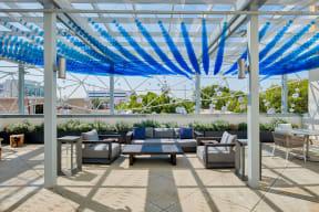 Courtyard area at Terraces at Paseo Colorado