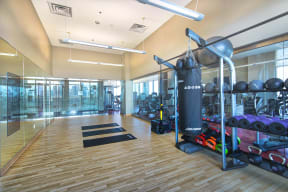 State of the art fitness center offer everything you need to work out without leaving home.