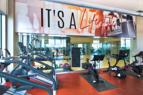 2,800 Sq Ft Fitness Center and Yoga Studio
