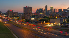 Spectacular downtown views. at Eleven by Windsor, Austin, Texas