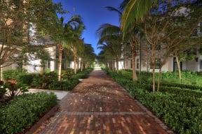 Enjoy a relaxing walk through the Windsor at Delray Beach promenade at Windsor at Delray Beach, Delray Beach
