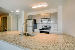 Upscale Stainless Steel Appliances at Waterside Place by Windsor, Boston, MA