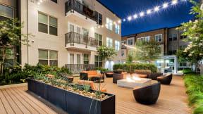 Open Air Courtyard at Windsor West Lemmon, Texas, 75209
